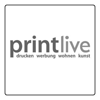 Logo PRINTLIVE