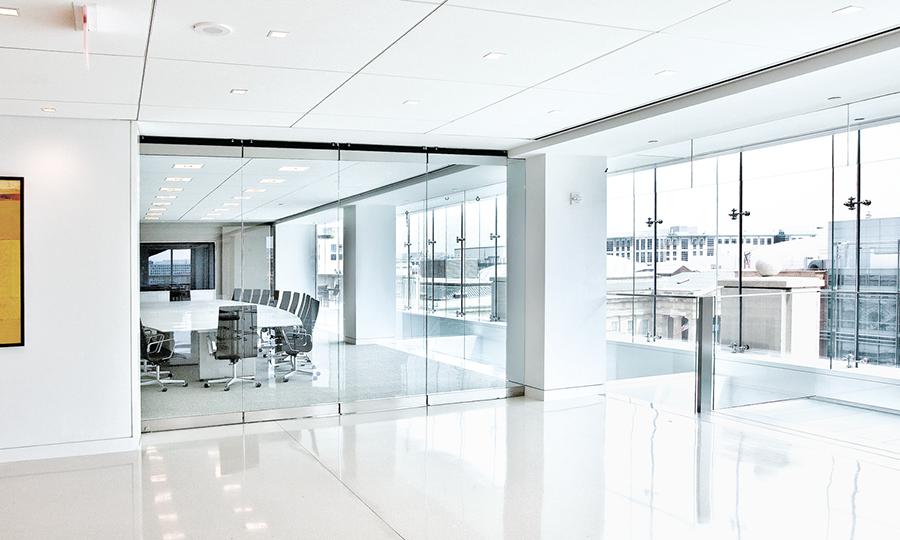 Glas-Innenbereich Geschäftsräume