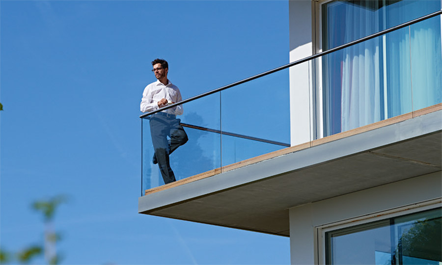 Glas-Aussenbereich - PS-Balkone Terrasse-Balkon