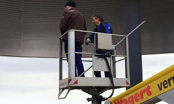 Glasfront Montageanweisungen Bernd Spaeth im Staiger