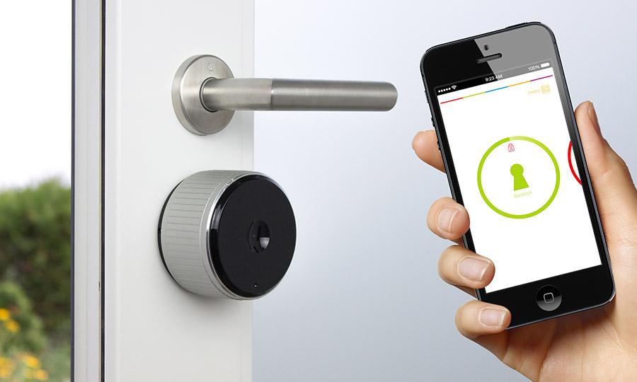 Sicherheit an Türen - per App